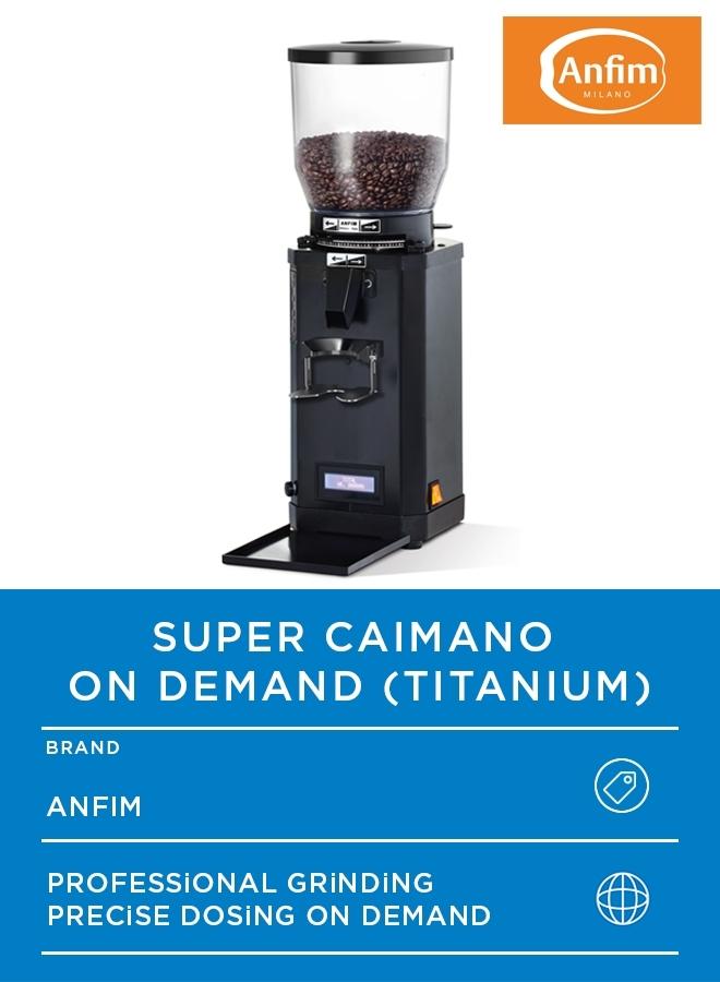 SUPER CAIMANO ON DEMAND TITANIUM